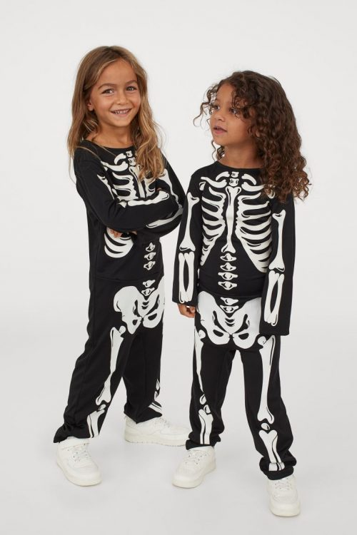 Skeleton Costume - H&M - £14.99