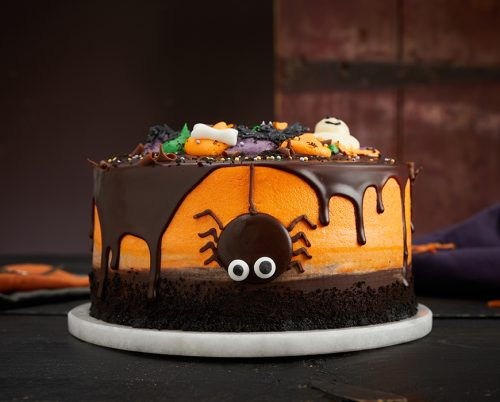 Halloween Spider Layer Cake - Lola's Cupcakes - prices vary depending on size
