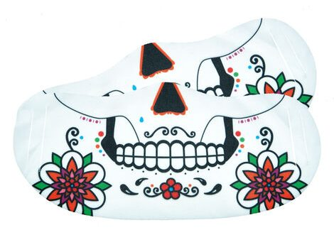 Day of The Dead Skull Face Coverings - Pack of 2 - Card Factory - £2.99