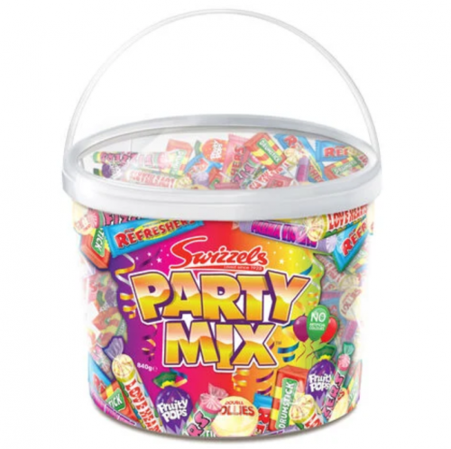Swizzels Party Mix 840g Tub - Card Factory - £5.99